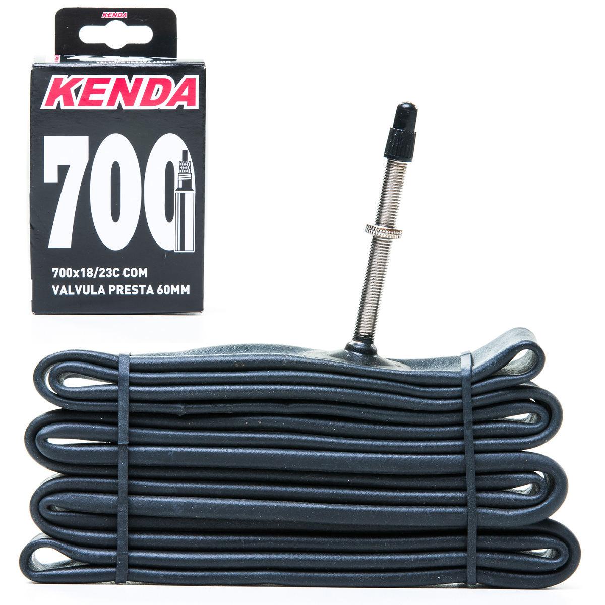 CAMARA DE AR KENDA 700X18/23C, PRESTA 60MM (40419)