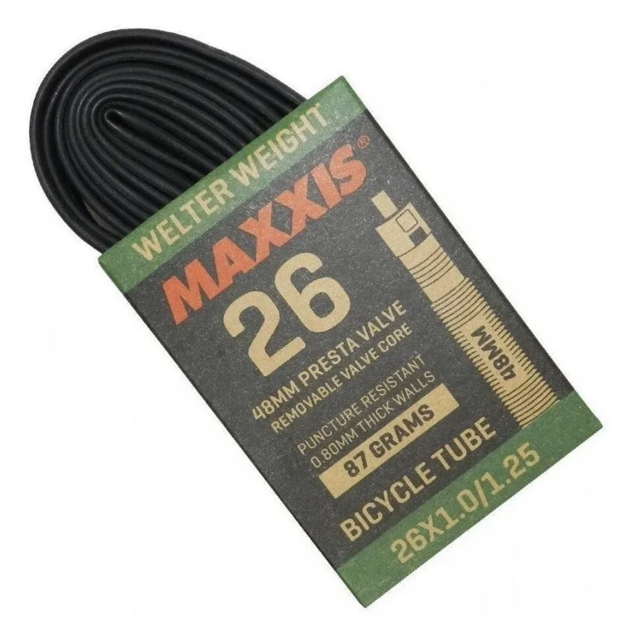 CAMARA DE AR MAXXIS 26X1.00/1.25 VALV PRESTA