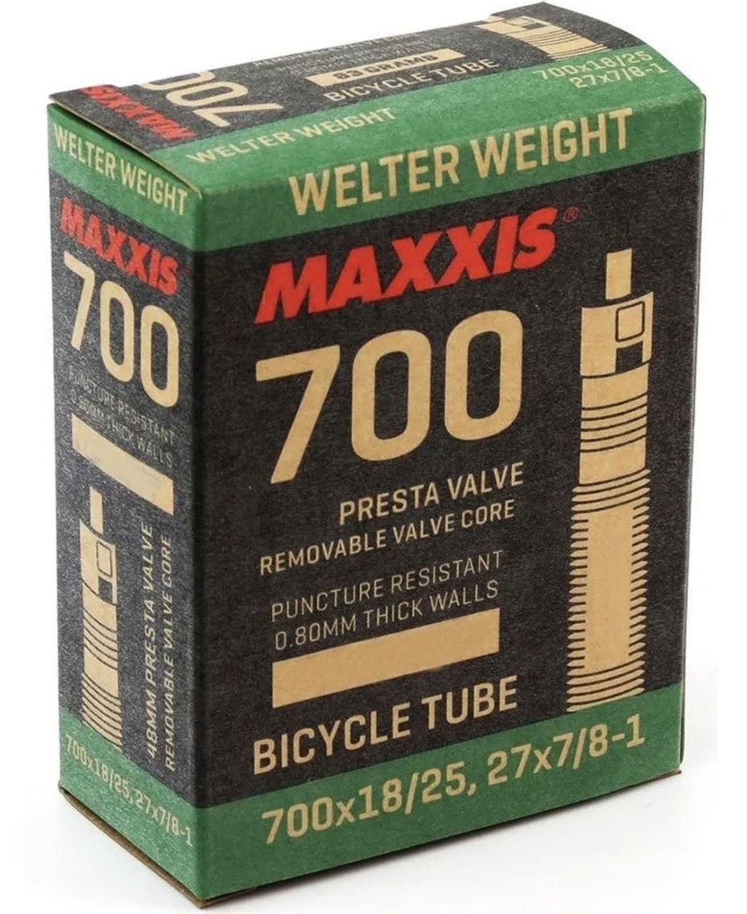 CAMARA DE AR MAXXIS 700X18/25C VAL PRESTA 80MM (4221-05590)