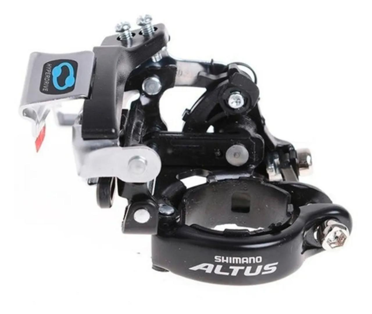 CAMBIO DIANTEIRO SHIMANO ALTUS FD-M310 TRIPLO 31.8MM 8V T SWING DUALPULL (1050008)