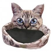 Cama para Pets com estampa de Gato, Tam único