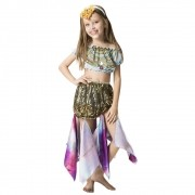 Fantasia de ciganinha com tiara decorada
