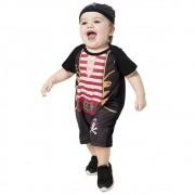 Fantasia de Pirata com gorro para Bebês