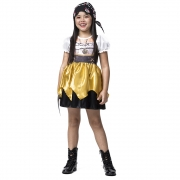 Fantasia Pirata Gold menina
