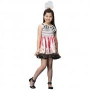 Fantasia de Pipoquinha infantil com tiara de pipoca
