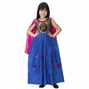Fantasia de Princesa Beatrice com capa