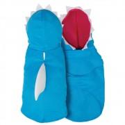 Colete de Tubarão Azul para cachorros e gatos, Tam PP ao GG
