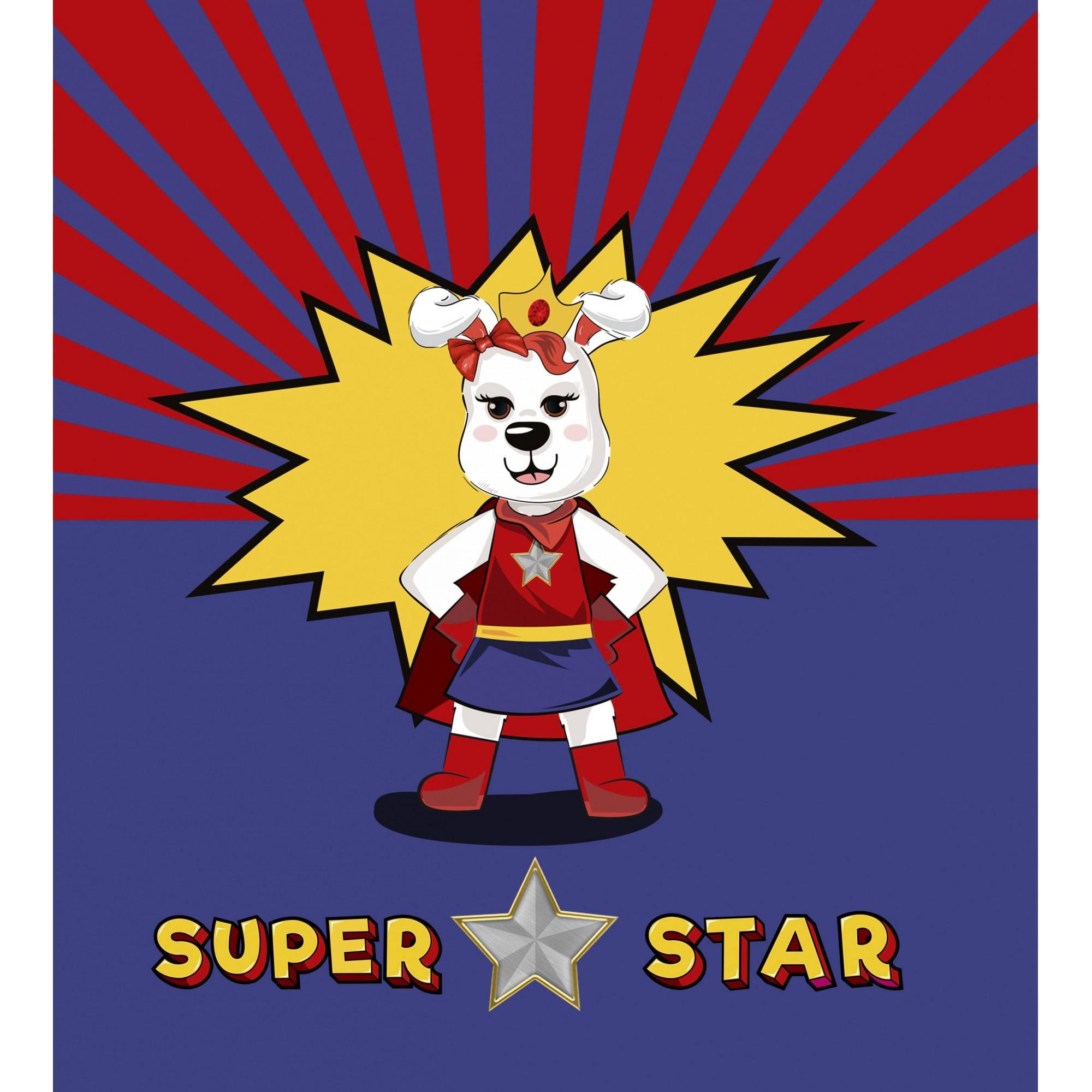 Bandana da aventureira Super Star para cachorros e gatos, Tam P ao G