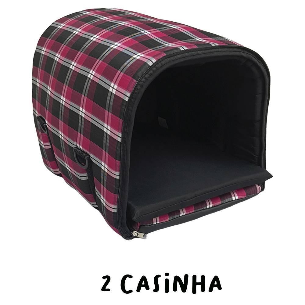 Cama Transporte para Pets cor Pink Tamanho P, M e G