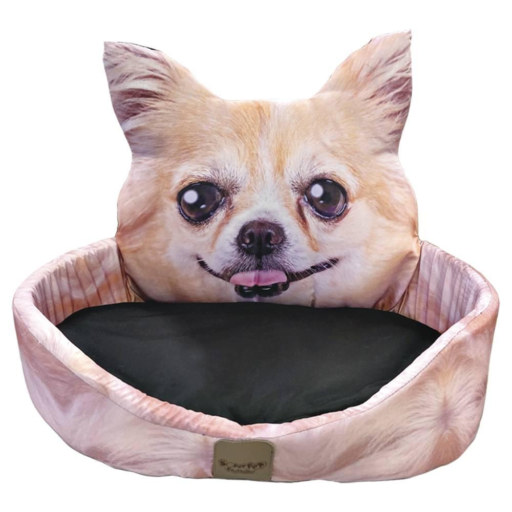Cama para Pets com estampa de Chihuahua, Tam Único