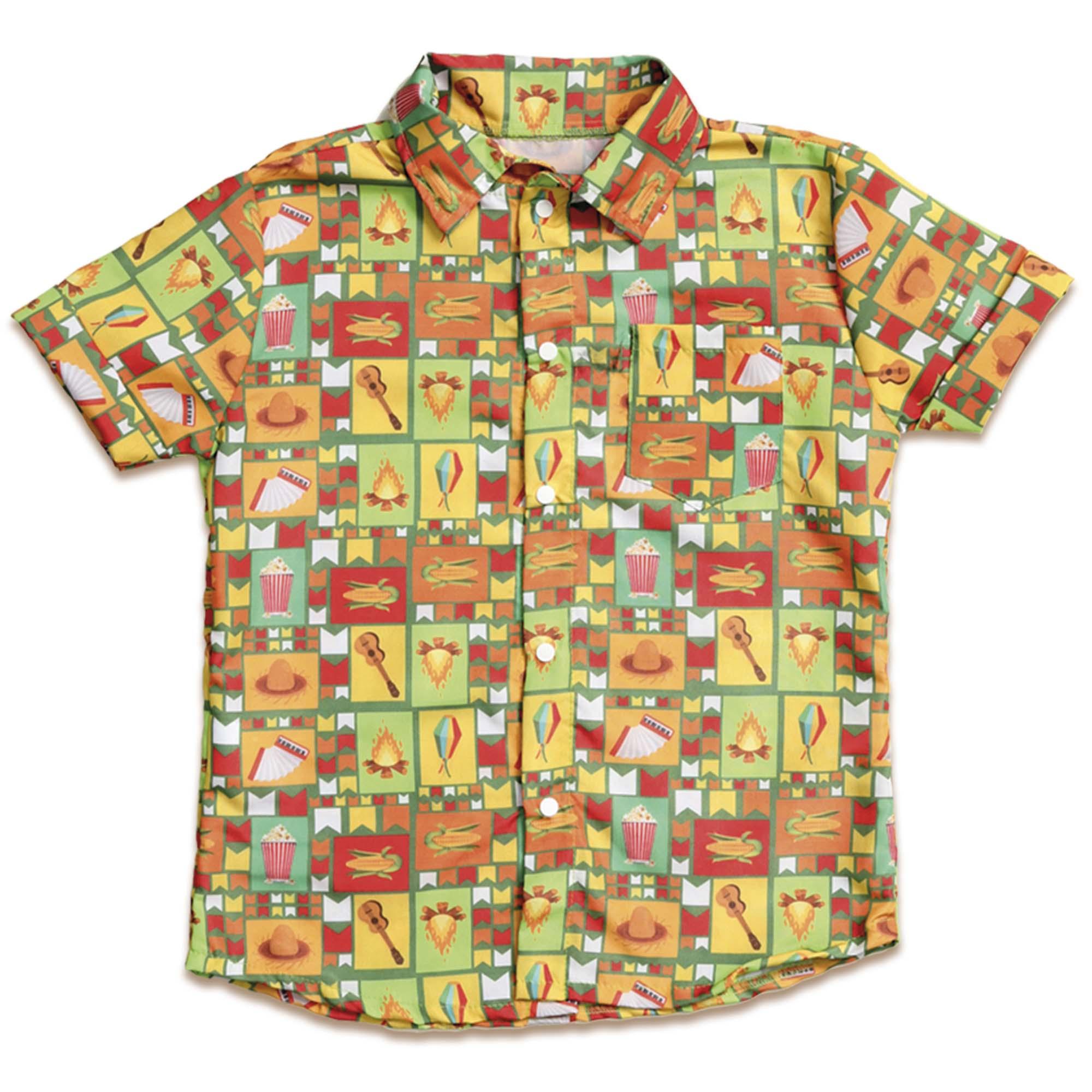 Camisa Festa Junina Huguinho