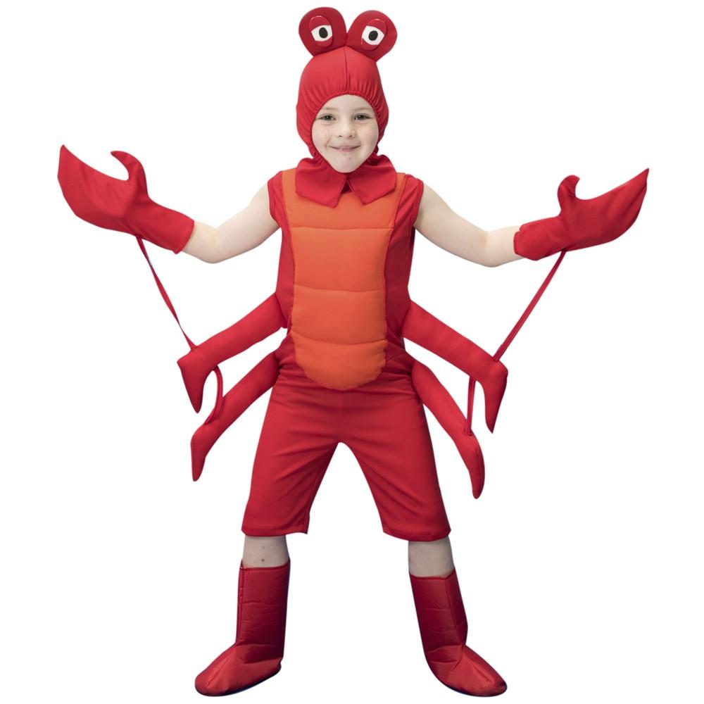 Fantasia de Caranguejo Juca infantil macacão com capuz e patas