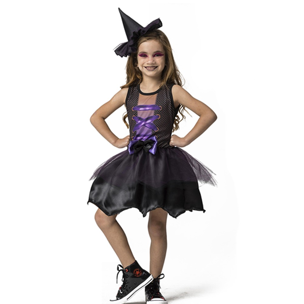 Fantasia Bruxa Hildinha Infantil