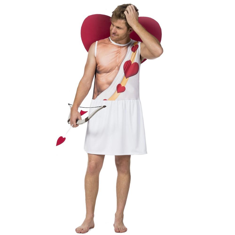 Fantasia de Cupido com asas e flecha para adultos