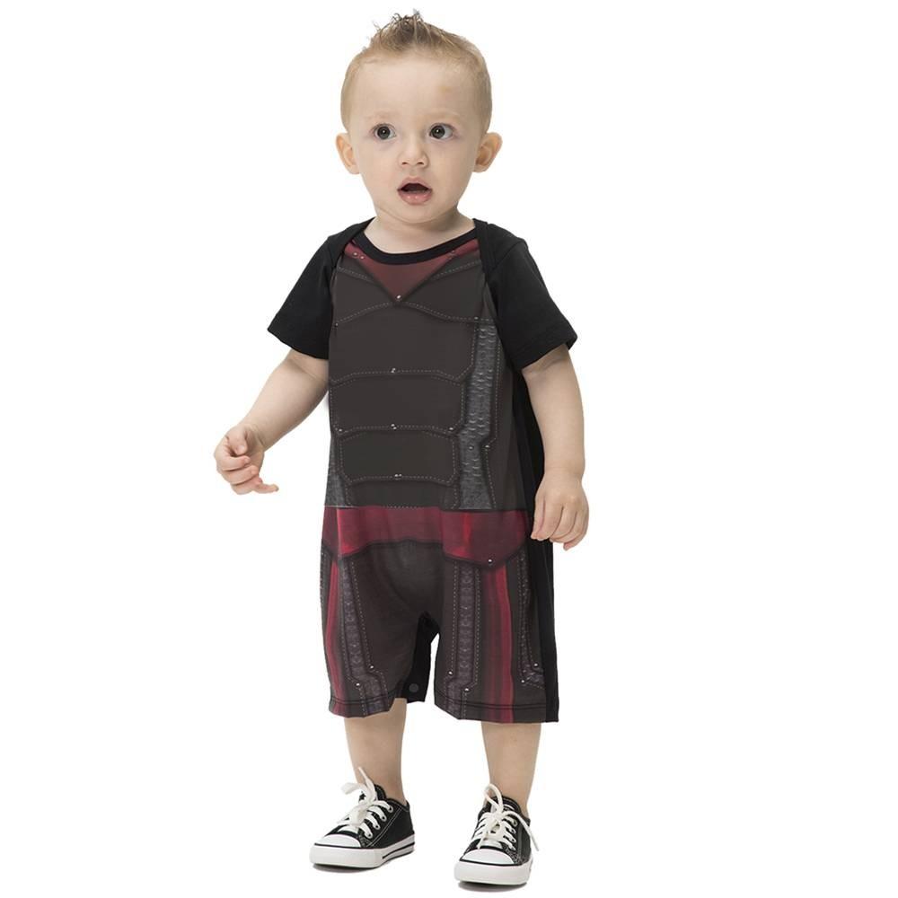 Fantasia de super menino martelo para bebês