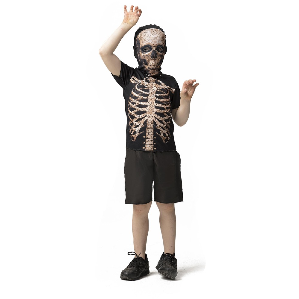 Fantasia esqueleto trincado