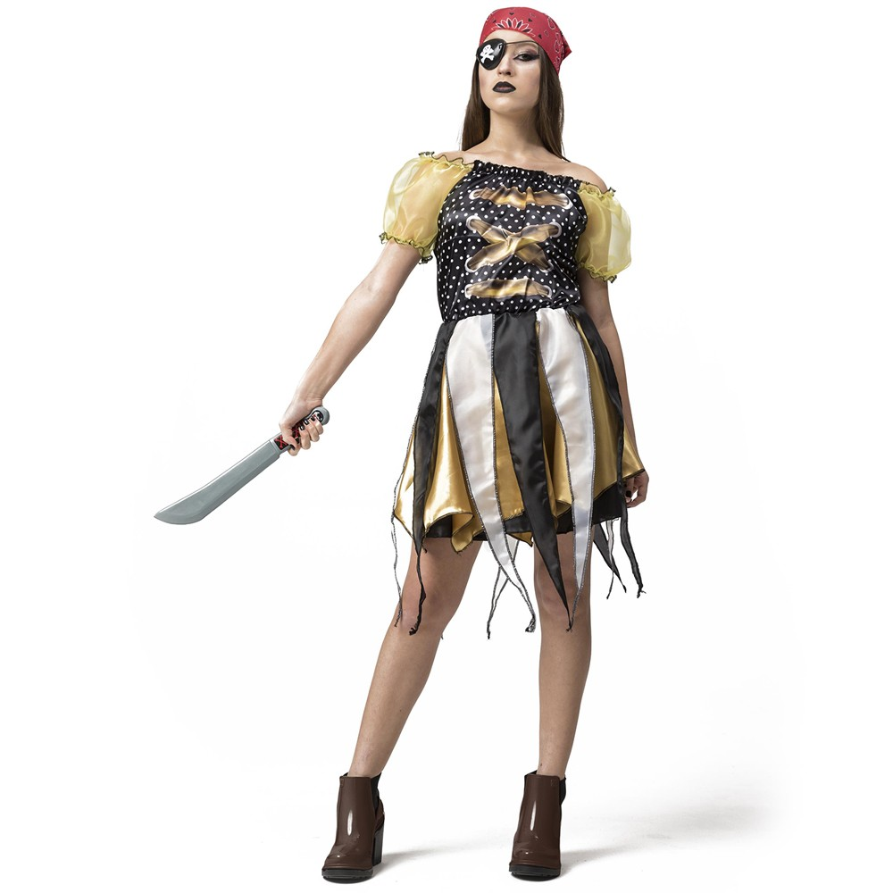 Fantasia Menina Pirata
