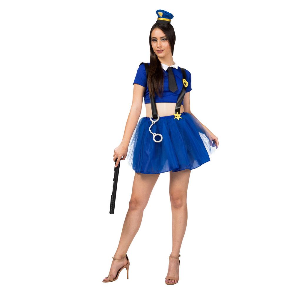 Fantasia Policial Holly Adulto