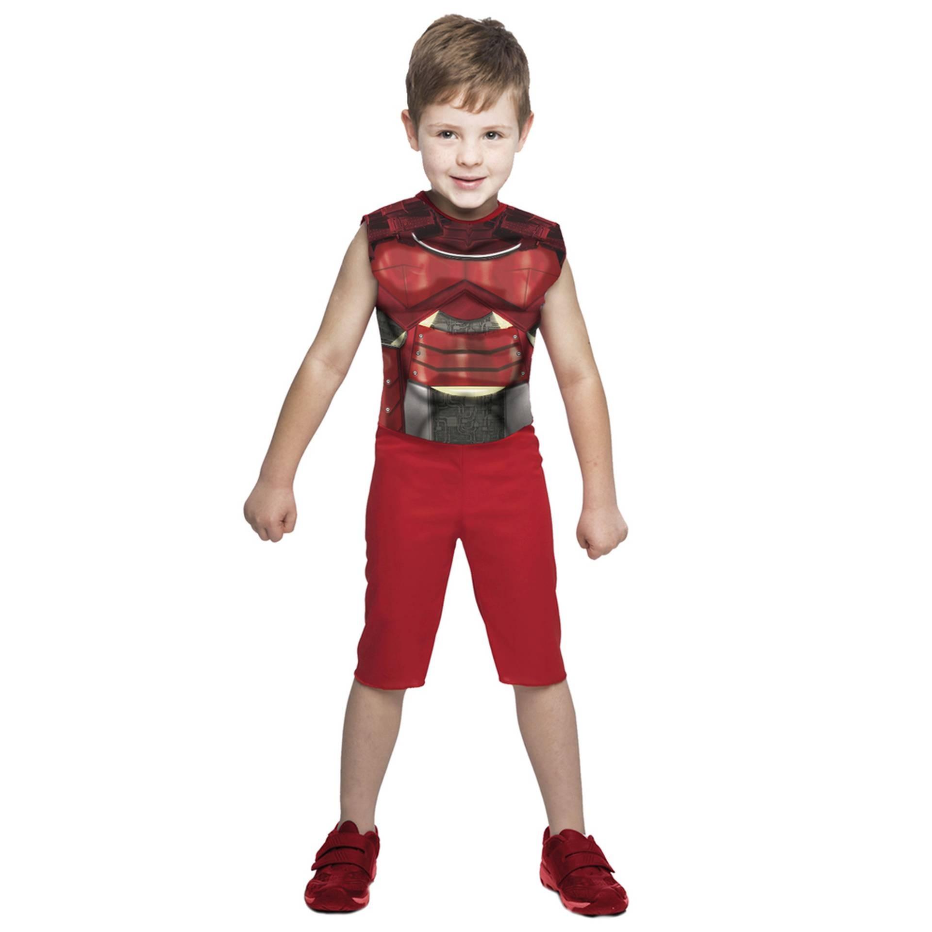 Fantasias de Super Soldado Estelar, macacão com músculos