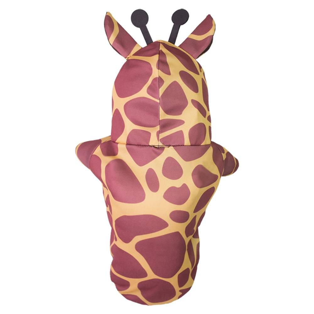 Fantasia para cachorros e gatos de Girafinha com antenas, Tam PP ao GG