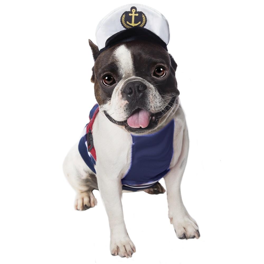 Peitoral para cachorro de Marinheiro, P ao G