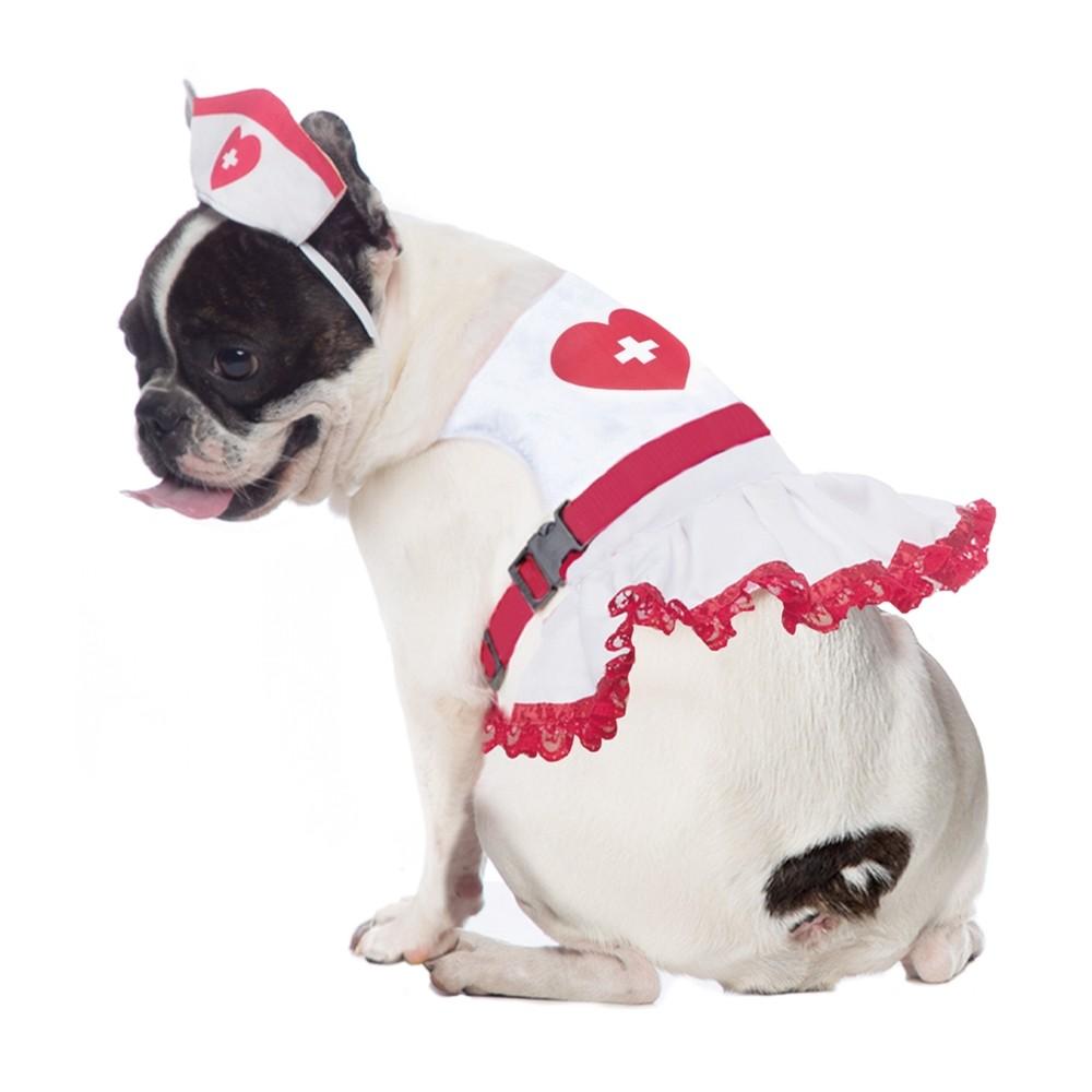 Peitoral de Enfermeira para cachorros , P ao G