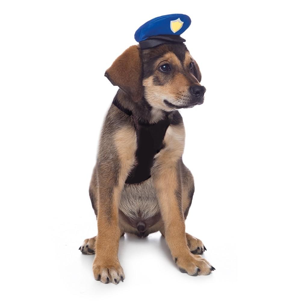 Peitoral de  Policial para Cachorro