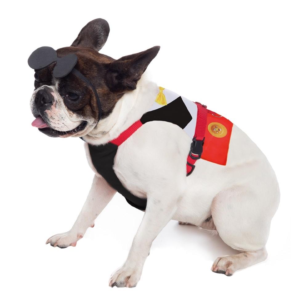 Peitoral para cachorro Ratinho Pimpo , P ao G