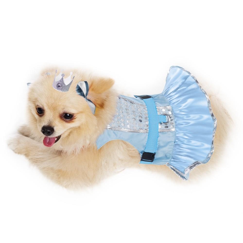 Peitoral para cachorros de Princesa Alyssa , P ao  G