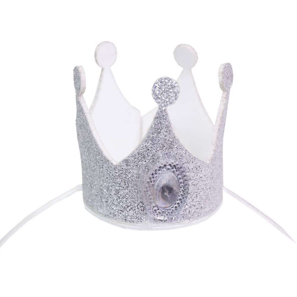 Fantasia de Princesa Alyssa com coroa para cachorros e gatos, Tam PP ao GG
