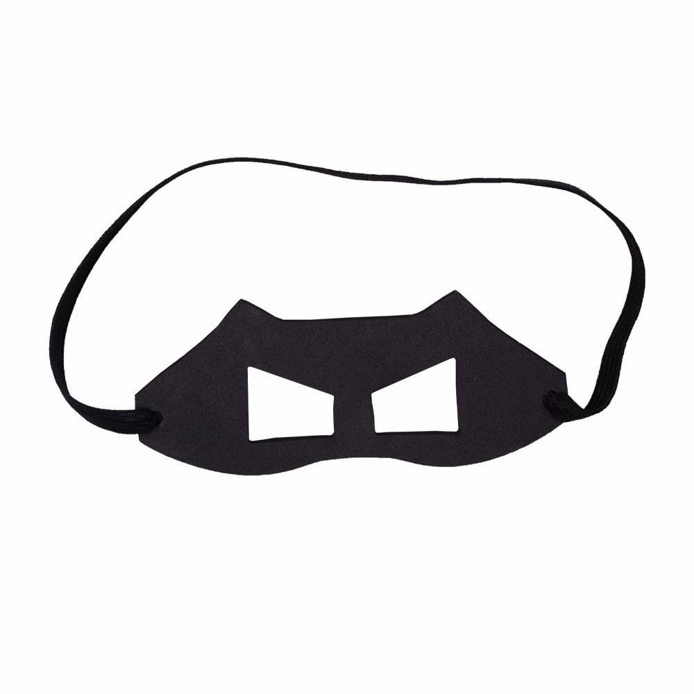 Fantasia do Raio Sombrio com máscara para cachorros e gatos, Tam PP ao GG