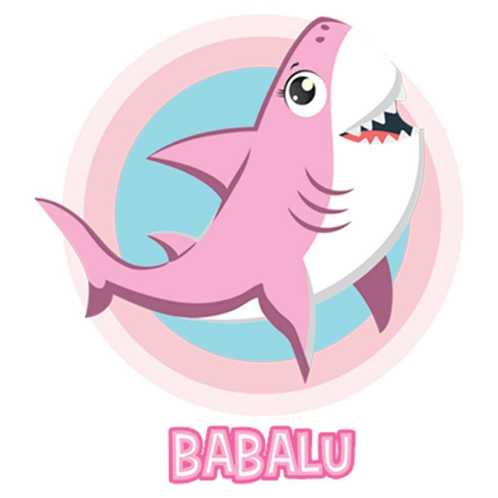 Fantasia de Tubarão Rosa para cachorros e gatos, Tam PP ao GG