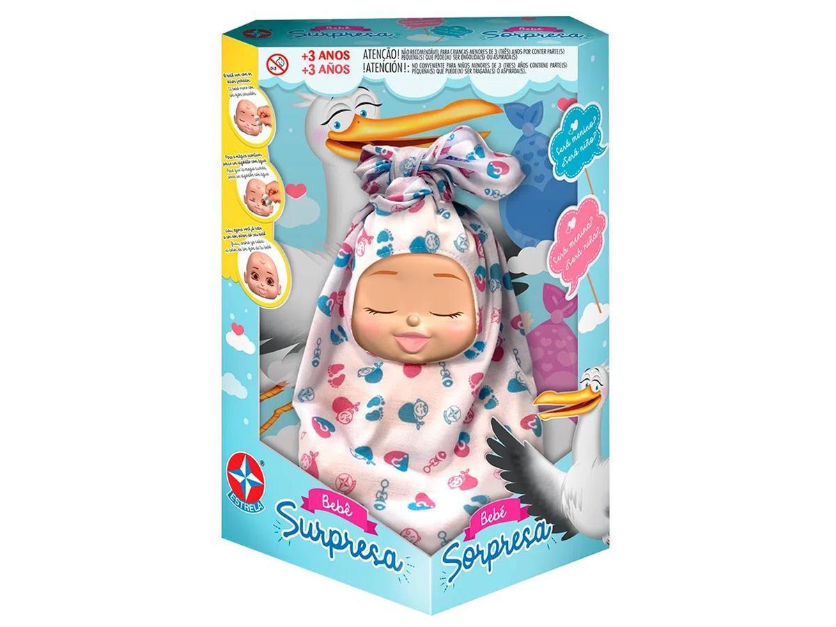 Bebê Surpresa Estrela 1001001500003