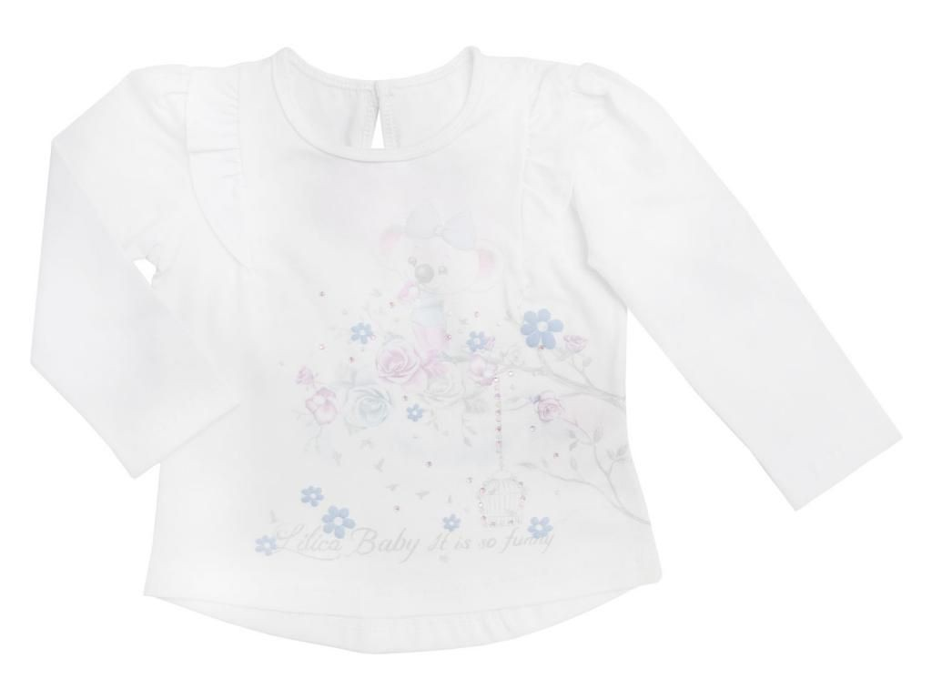 Blusa Branca Lilica Ripilica Baby