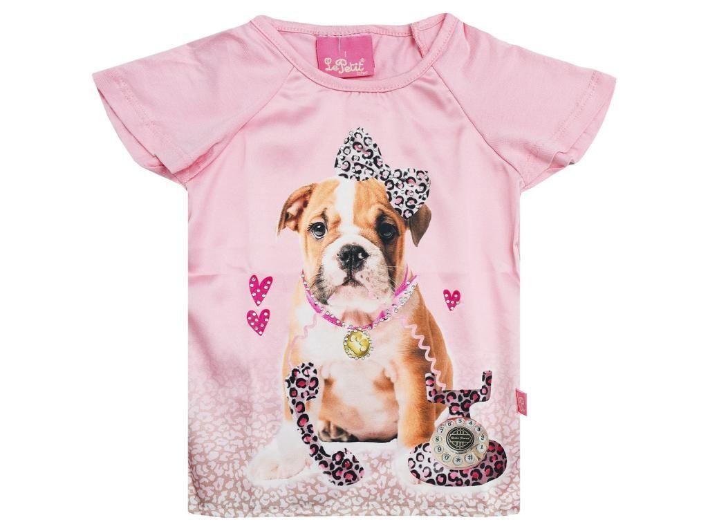 Blusinha Rosa Estampada Le Petit