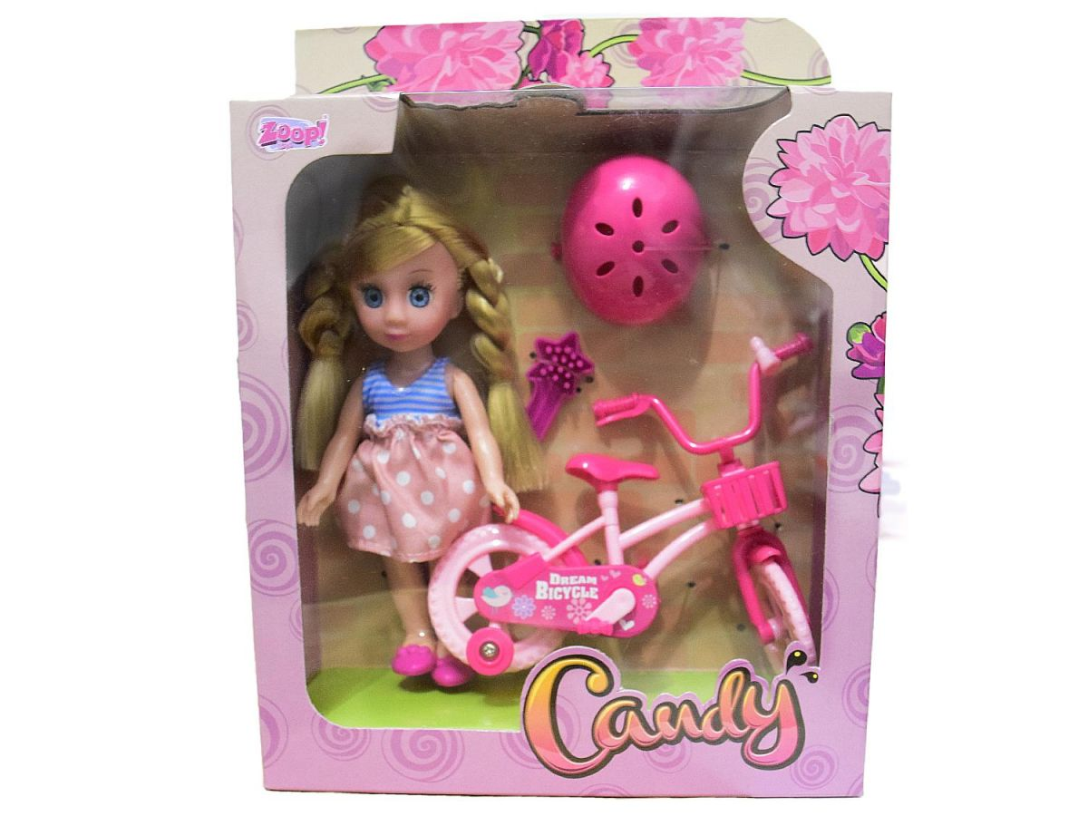Boneca Candy Ciclista  ZP00209