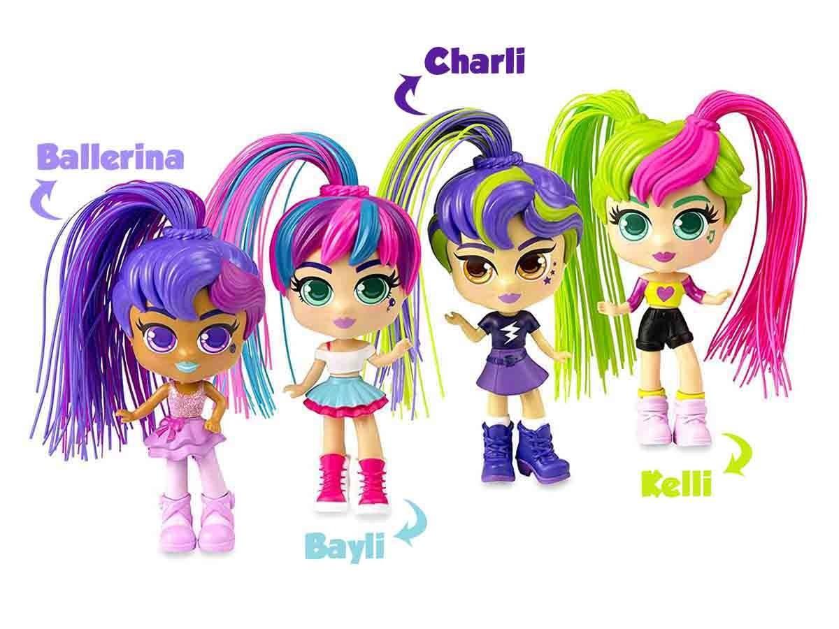 Boneca Curli Girls com Acessórios Colecionável - Rosita 1067
