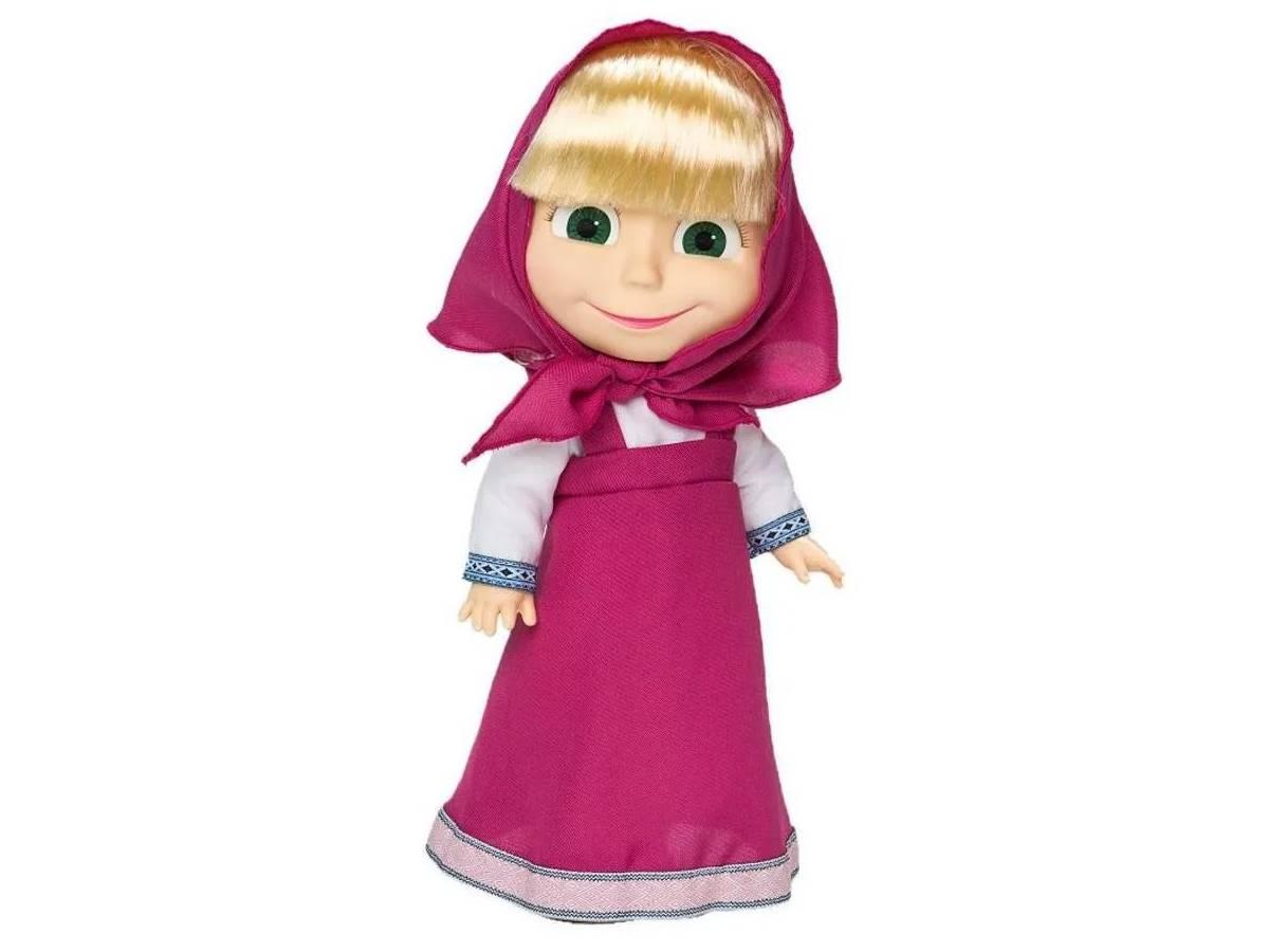 Boneca Masha que fala 35 cm - Estrela