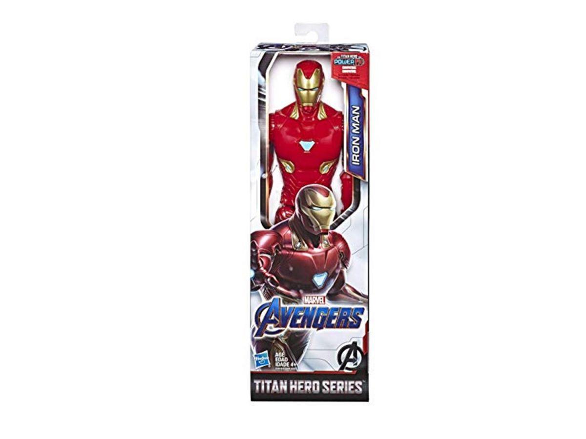 Boneco Homem de Ferro Titan Hero Hasbro E3918
