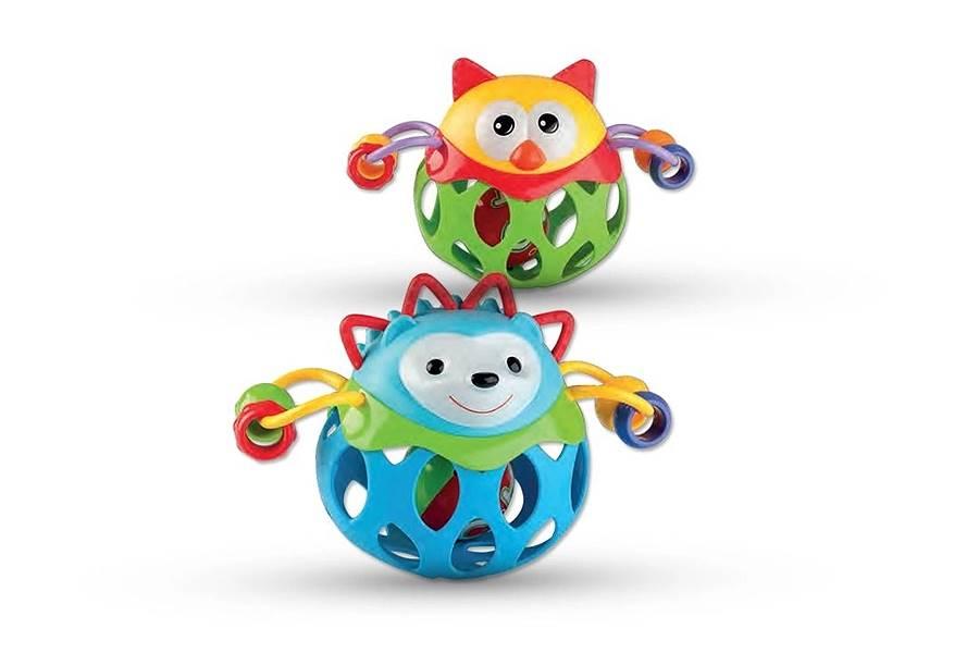 Brinquedo Bichinho Bola Chocalho Zoop Toys