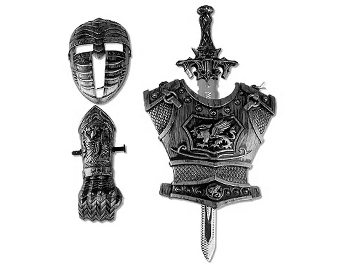 Brinquedo Kit Medieval Defensores Zoop Toys ZP00488