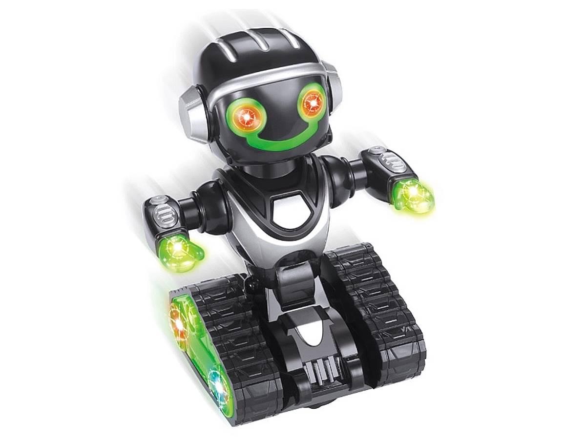 Brinquedo Robô Inteligente Com Luz E Som Toyng