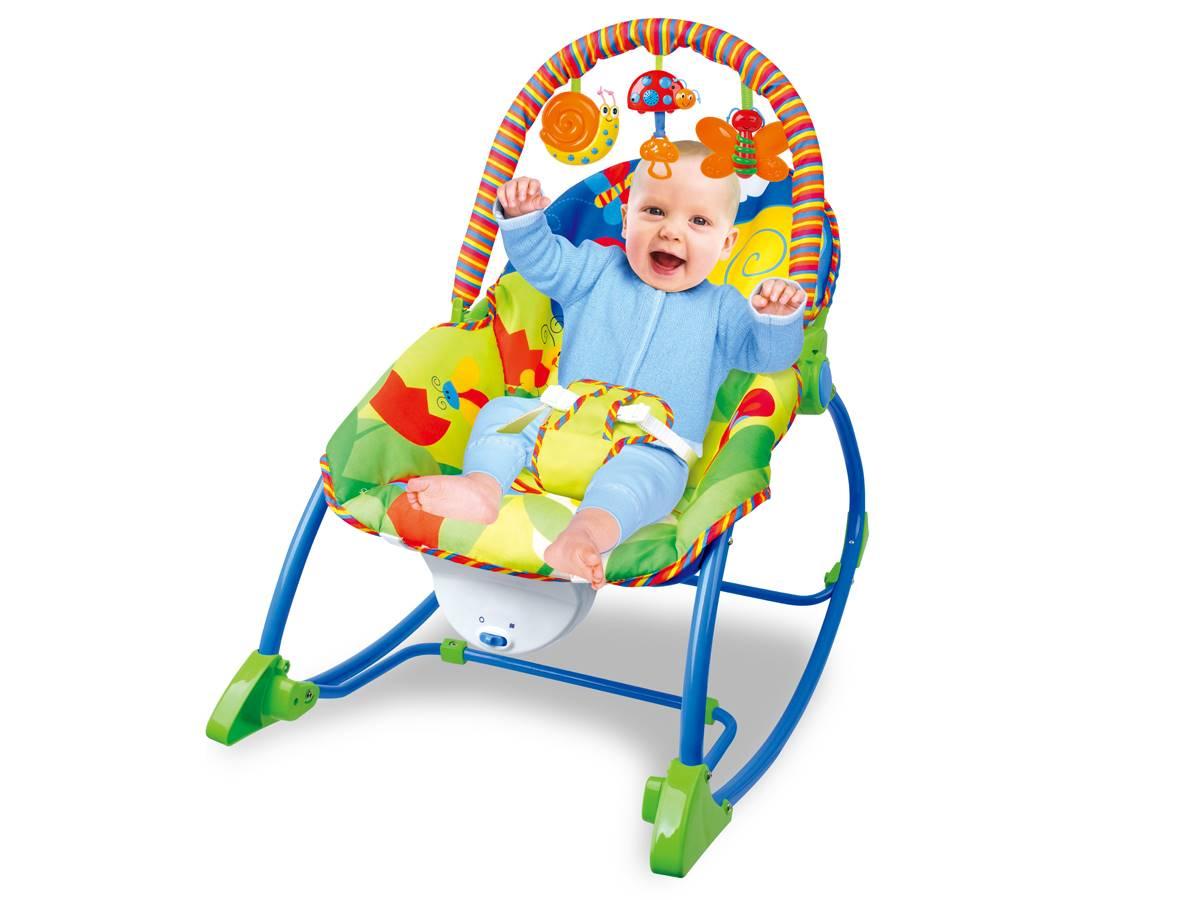 Cadeira de Atividades e Descanso Vibratória Com Som - Até 18 kgs ZP00742
