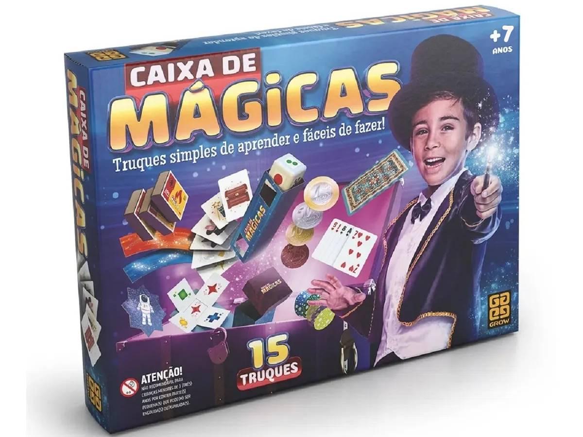 Caixa De Mágicas Grow com 15 truques 01428