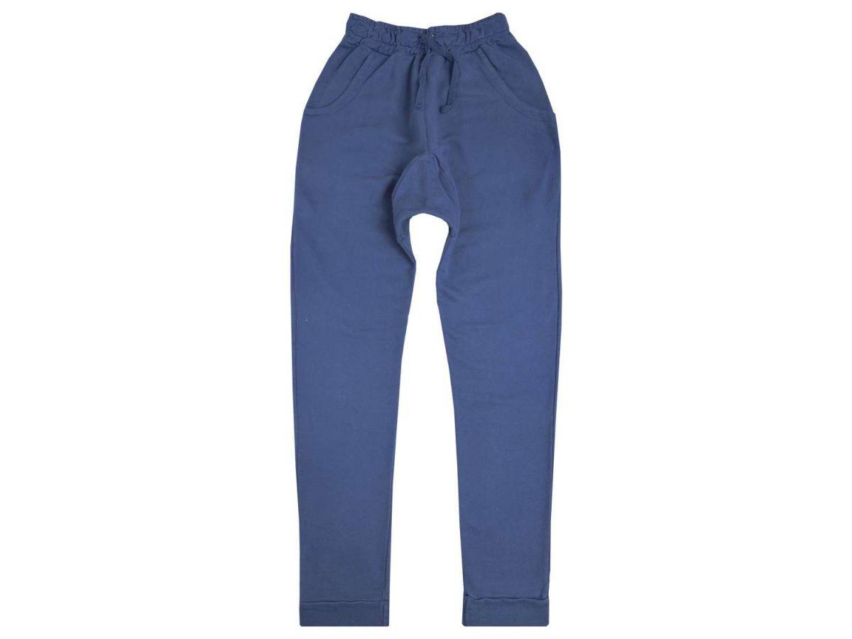 Calça Azul Moletom Saruel Masculina Tom Quest