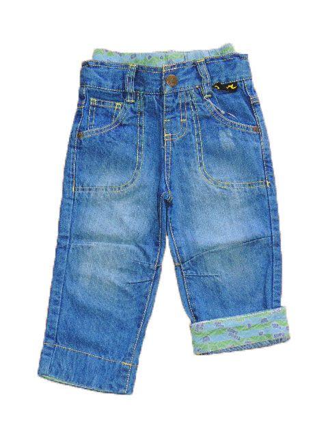 Calça Jeans Com Falsa Cueca Tigor T. Tigre