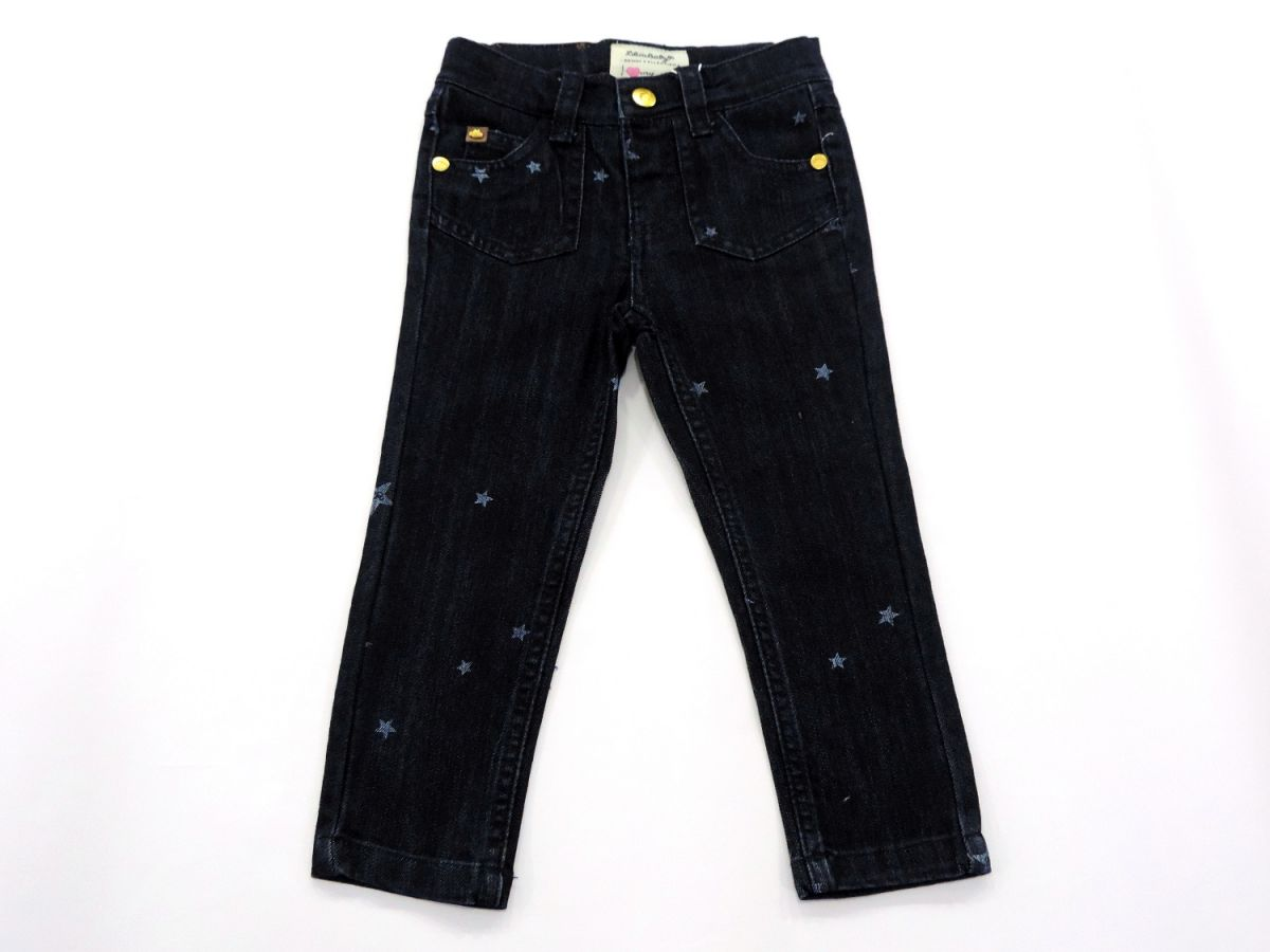 Calça Jeans Estampa de Estrela Lilica Ripilica