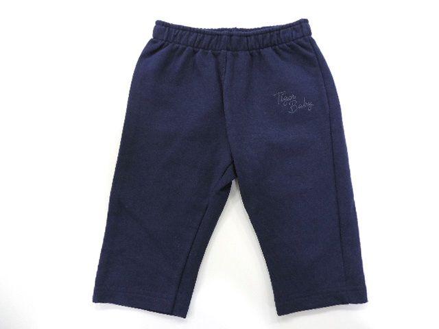 Calça Moletom Azul Marinho Tigor T. Tigre Logo Assinatura - Tamanho M (6 a 9 meses)