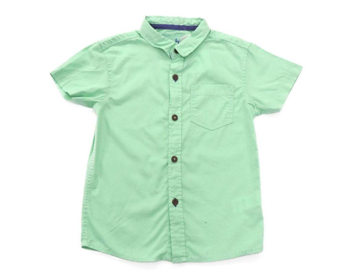 Camisa Botão Verde Importada