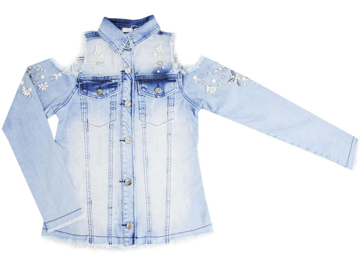 Camisa Jeans Krescy by Kukixo